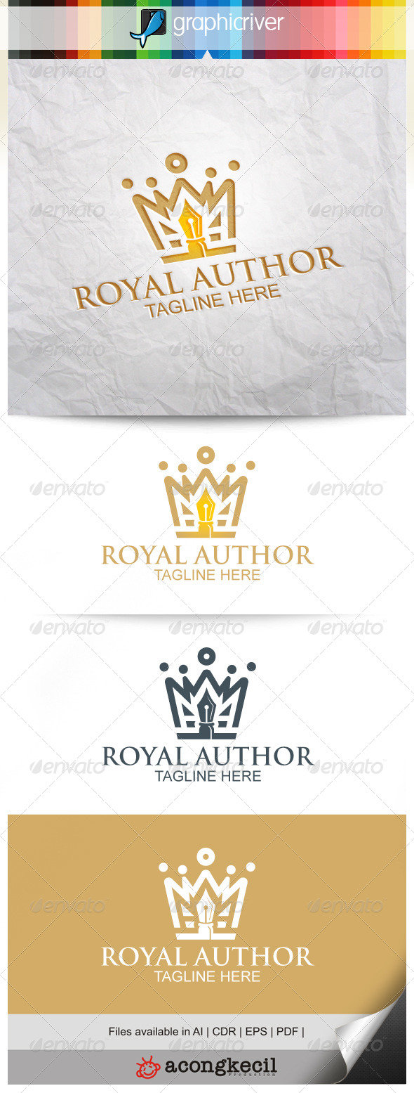 GraphicRiver Royal Author 8240193