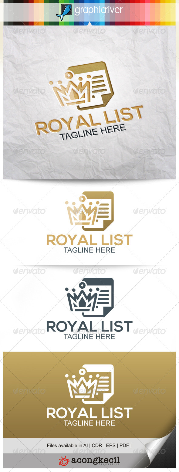 GraphicRiver Royal List 8240199