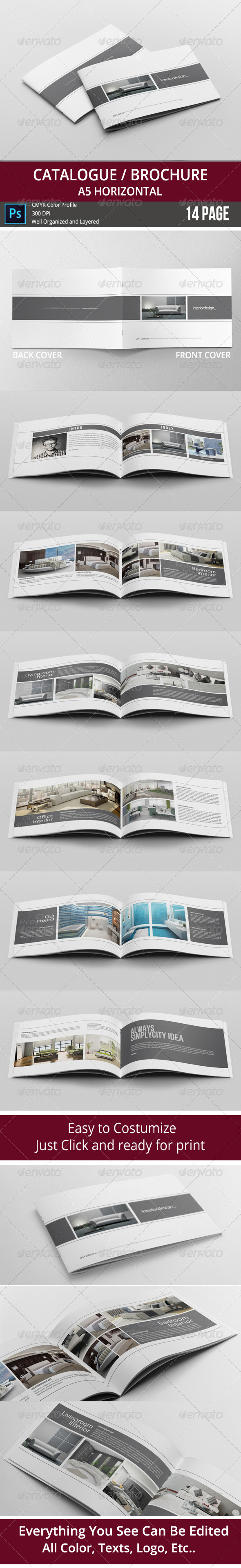 GraphicRiver Catalogue Brochure 8240264