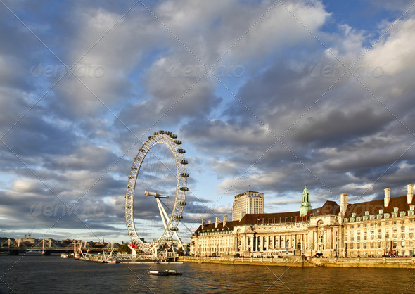 London Eye - Stock Photo - Images