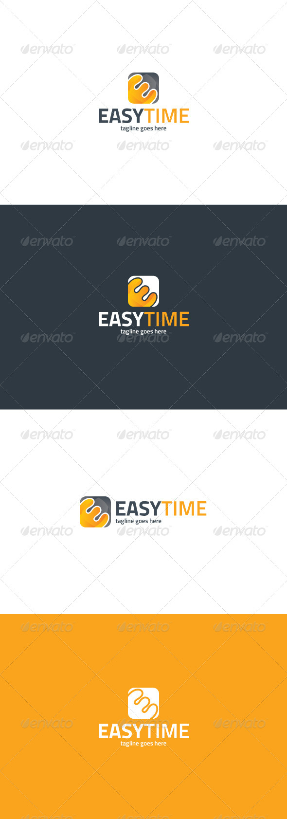 GraphicRiver Easy Time Logo 8240297