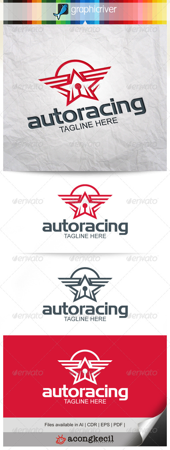 GraphicRiver Auto Racing 8240323