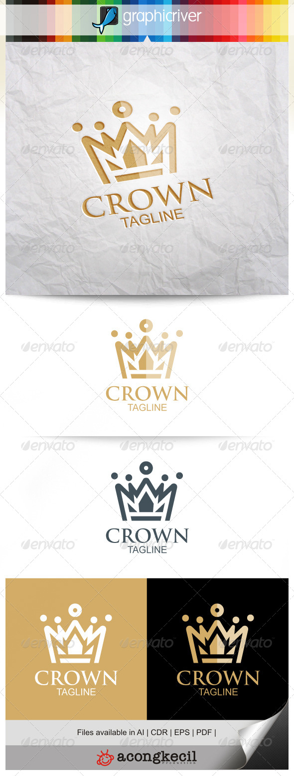 GraphicRiver Crown Logo 8240369