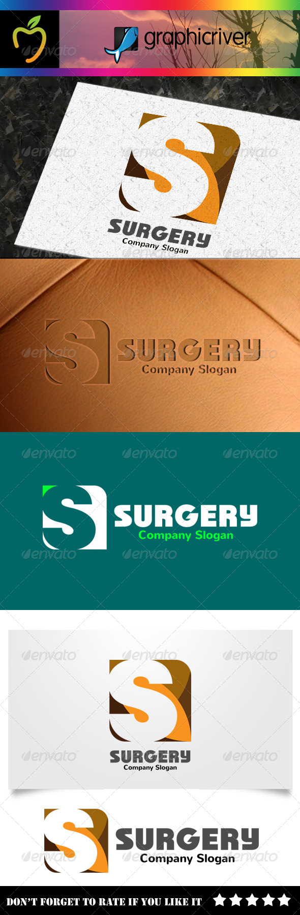 GraphicRiver Surgery S Letter Logo 8240397