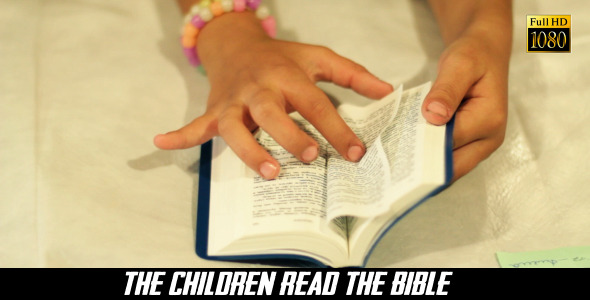 VideoHive The Children Read The Bible 2 8240423