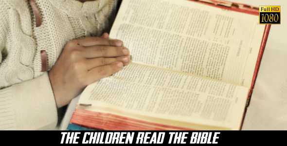 VideoHive The Children Read The Bible 4 8240506