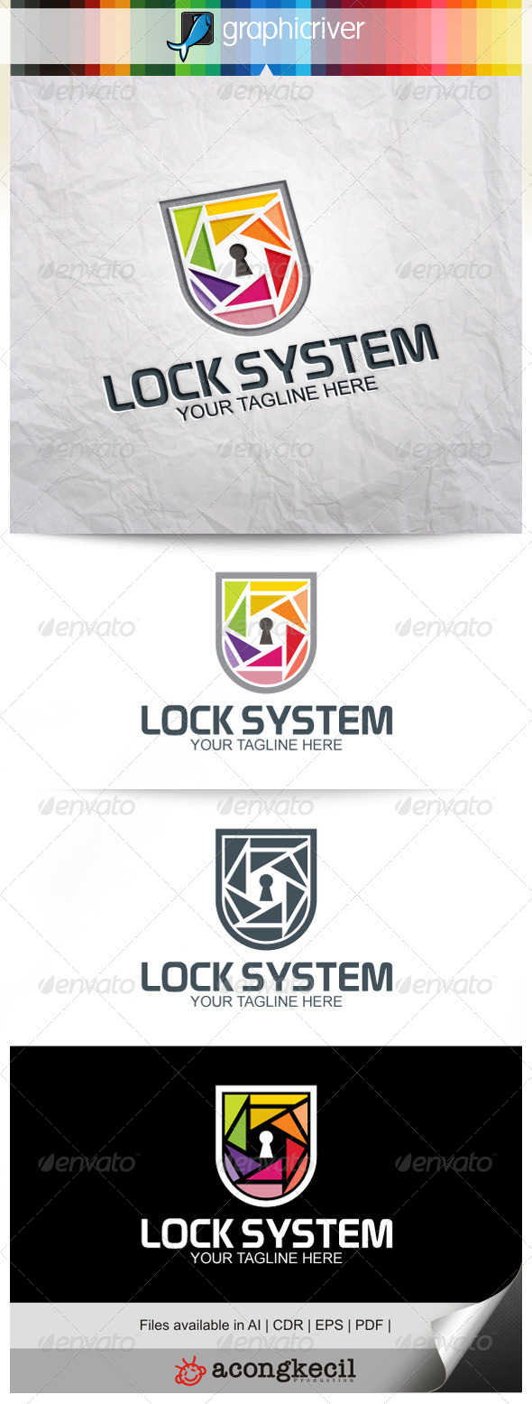 GraphicRiver Lock System V.4 8240511