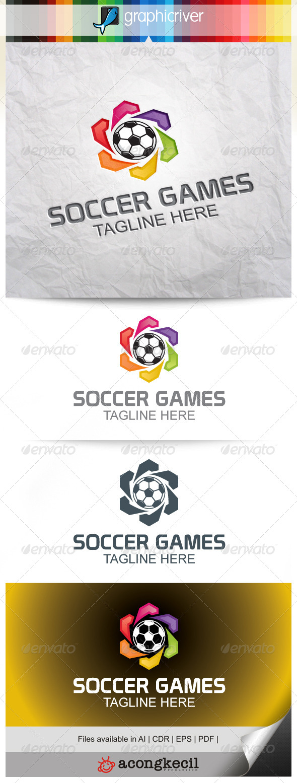 GraphicRiver Soccer Games V.4 8240530