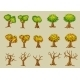 Set of Vector Trees - GraphicRiver Item for Sale