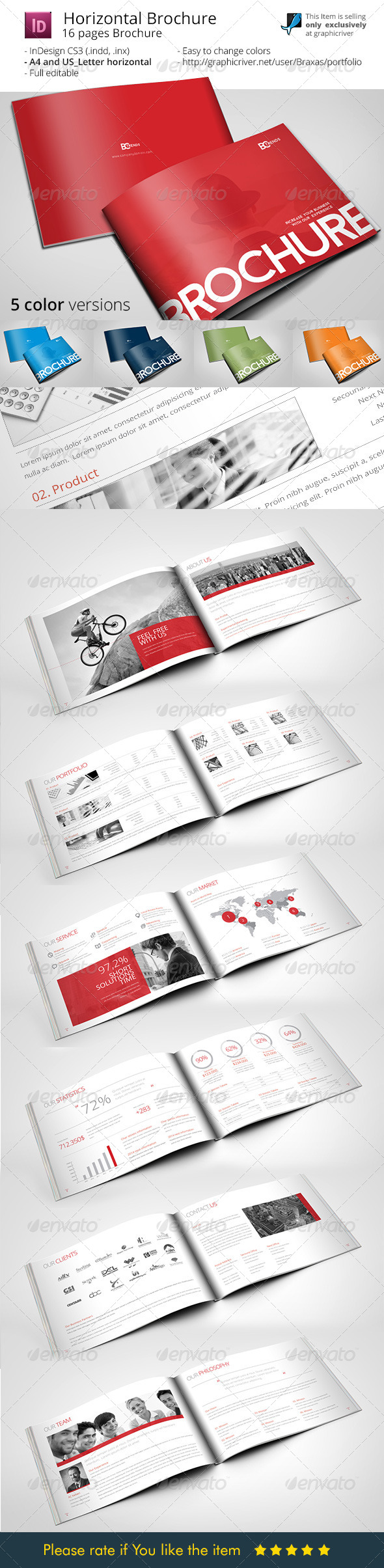 GraphicRiver Business Brochure Horizontal 8173740
