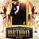 Classy Birthday Bash Flyer Template - GraphicRiver Item for Sale