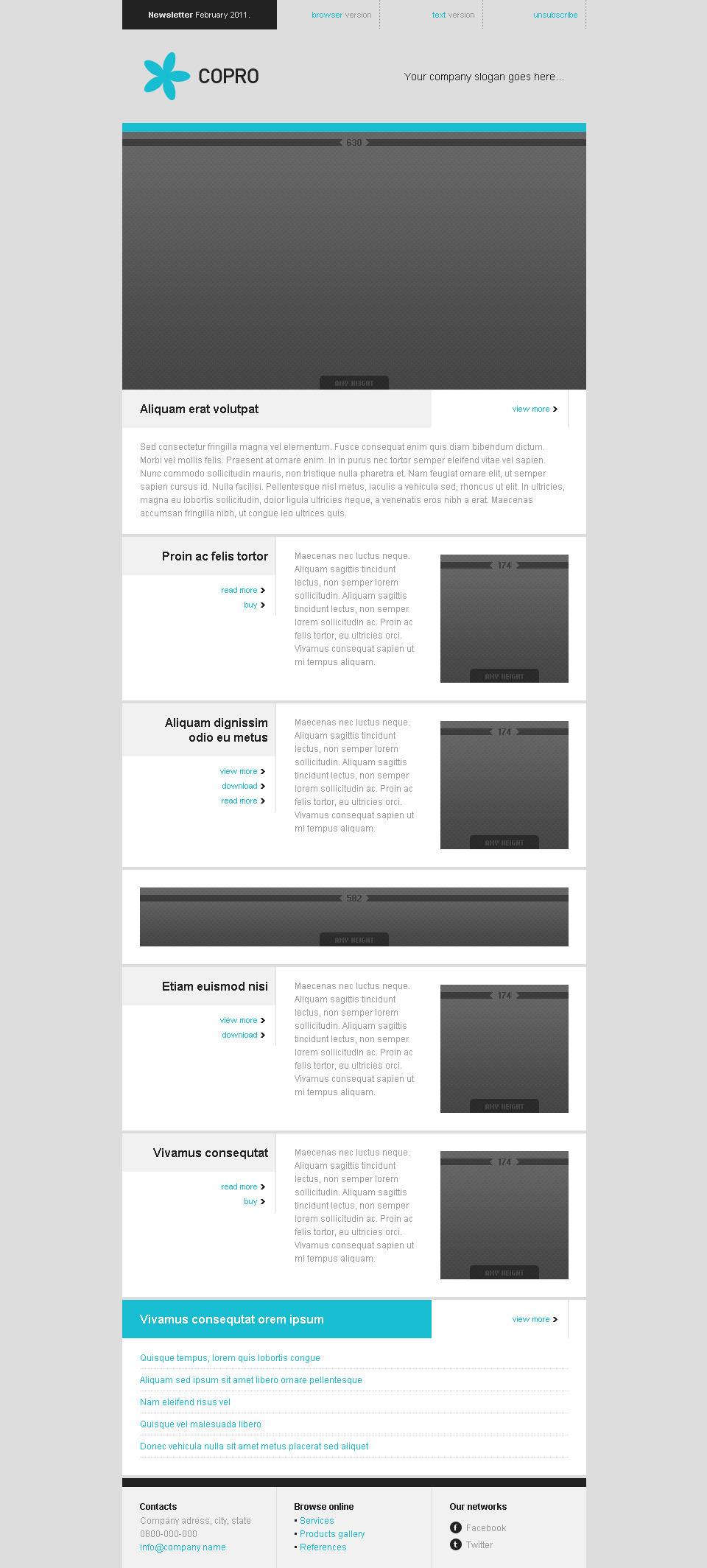 COPRO - 14 E-mail Templates