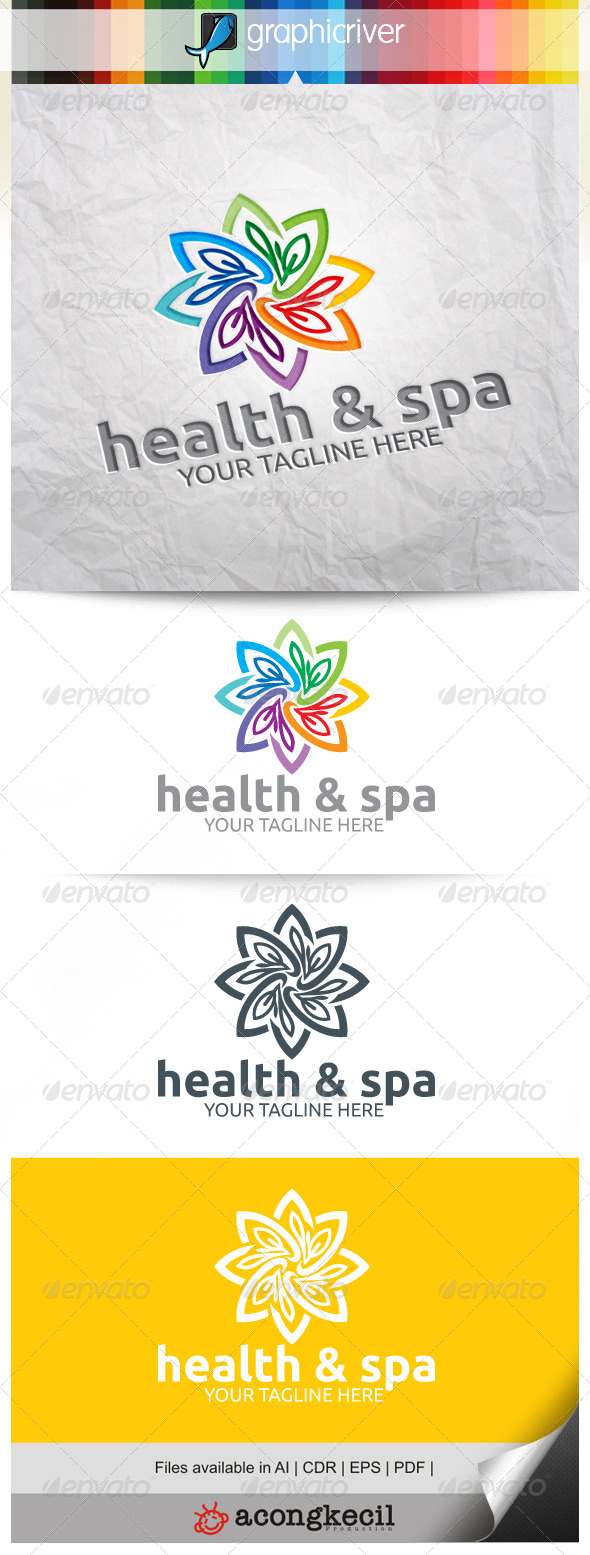 GraphicRiver Health & Spa V.4 8240689