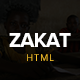 Zakat - One Page Charity HTML Template - ThemeForest Item for Sale