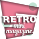 Retro Mini Magazine - GraphicRiver Item for Sale