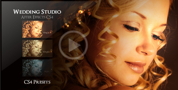 Wedding studio by flashato videohive for Adobe premiere pro slideshow templates