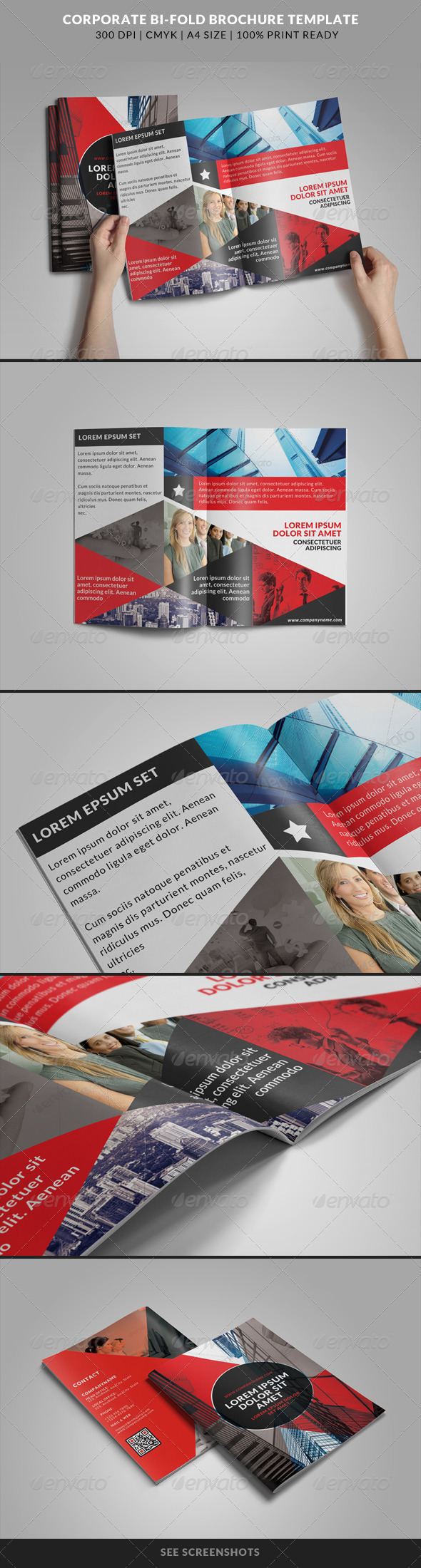 GraphicRiver Corporate Bi-Fold Brochures Template 7 8241159