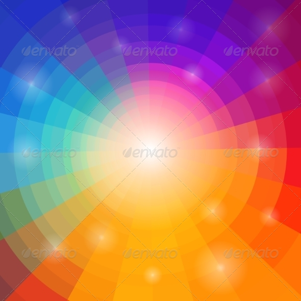 GraphicRiver Abstract Circular Colorful Background 8241170