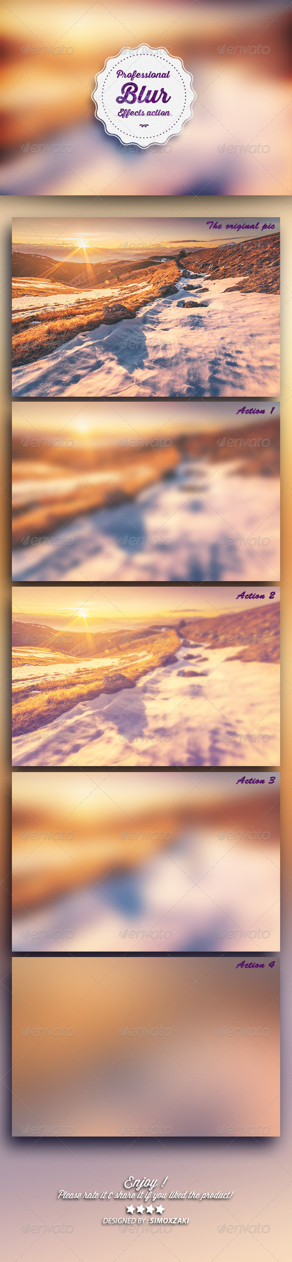 GraphicRiver Professional Blur Effects 8234073