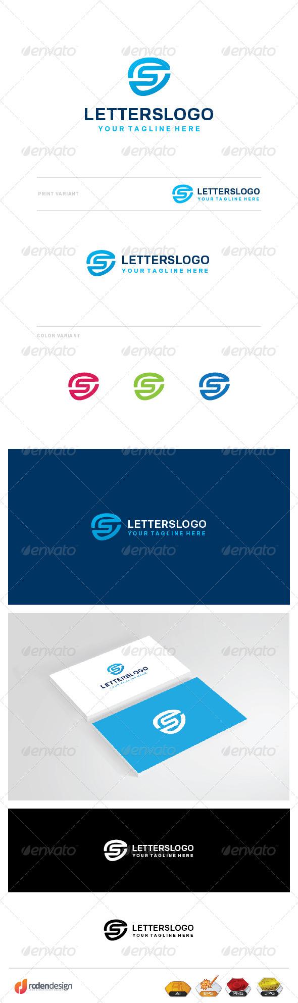 GraphicRiver S Letter Logo 8241347