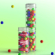 Clear Gumball Container Mockup - GraphicRiver Item for Sale