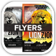 Reggae Lion Zion Concert Flyer - GraphicRiver Item for Sale