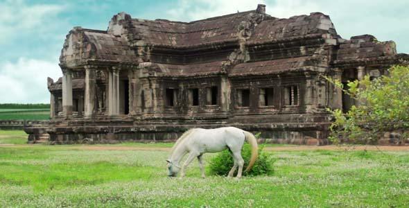 Tourists Climbing Angkor Wat3