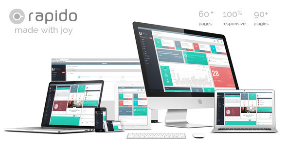 ThemeForest Rapido Responsive Admin Dashboard Theme 8241494