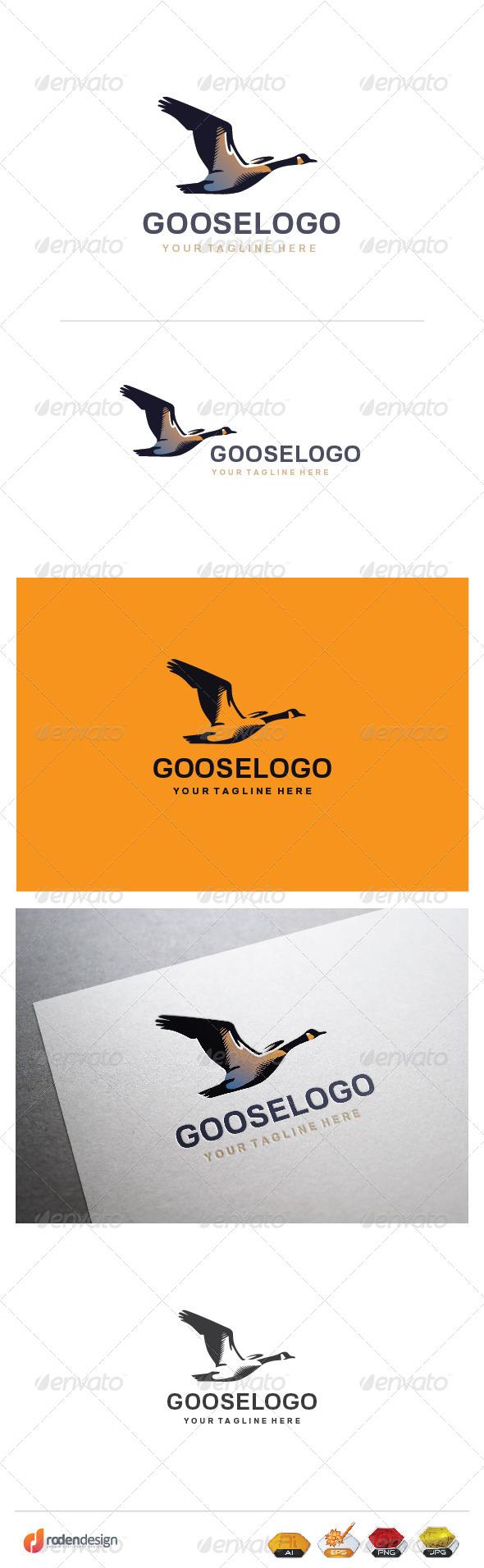 GraphicRiver Goose Logo 8241833