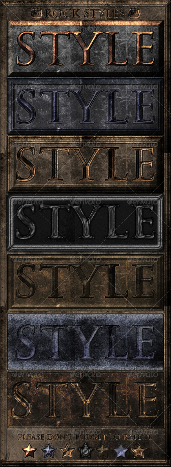 GraphicRiver 7-Styles Of Rock 8241884