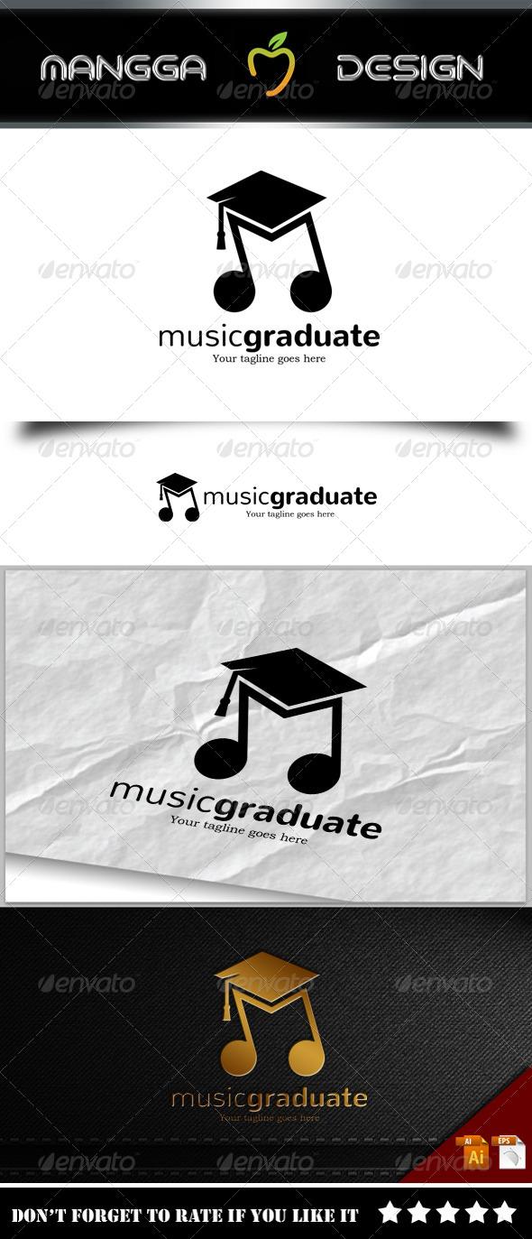 GraphicRiver Music Graduate Logo 8241910