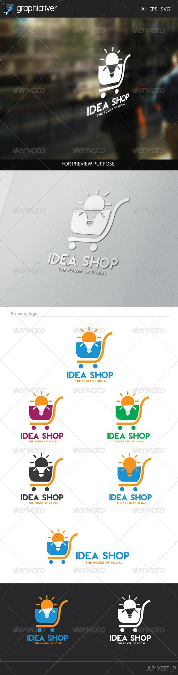 GraphicRiver Idea Shop Logo 8241920