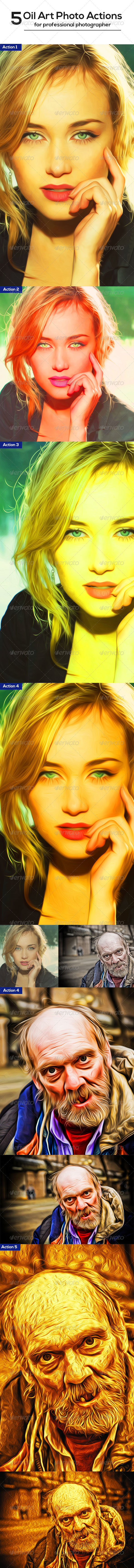 GraphicRiver Oil Art Photo Actions 8241973