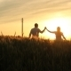 Two Lovers Walking To Sunset - VideoHive Item for Sale