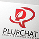 Plur Chat Logo / Letter P Logo - GraphicRiver Item for Sale