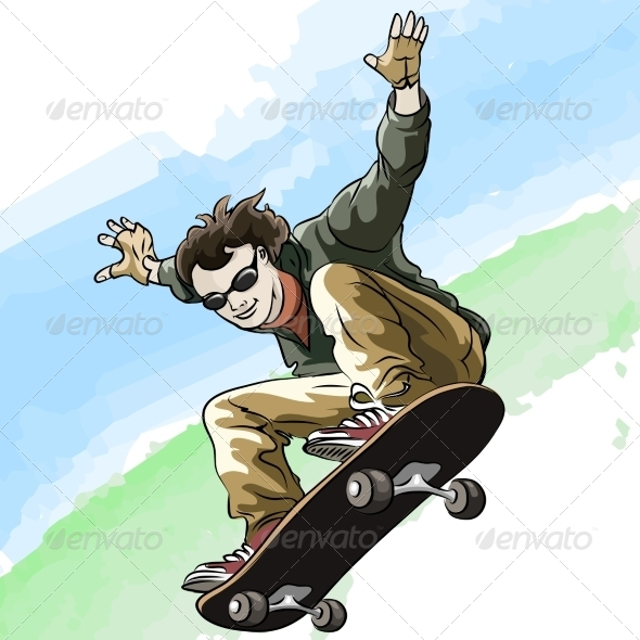 GraphicRiver Skateboarding 8241992