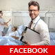Medical Doctor Facebook Timeline Cover  - GraphicRiver Item for Sale