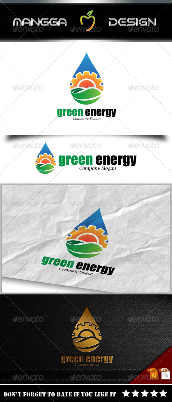 GraphicRiver Green Energy Logo 8242007