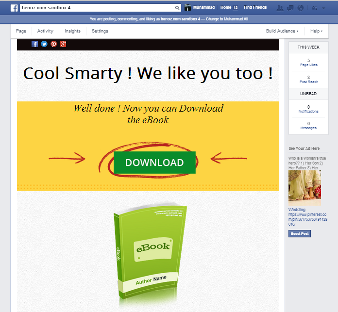 Facebook Share and Download Pro - 7