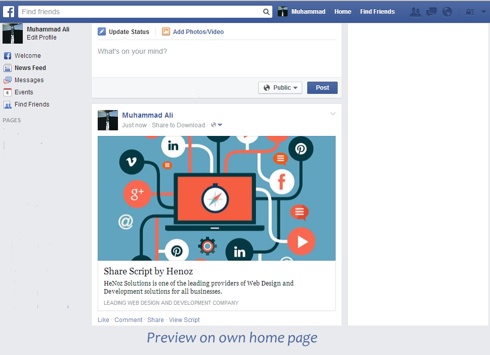 Facebook Share and Download Pro - 8