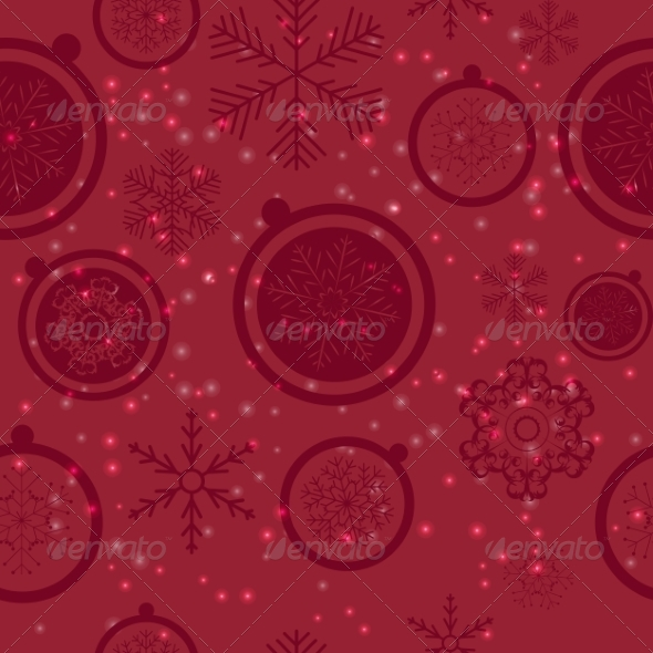 GraphicRiver Seamless Snowflakes Background 8242087