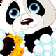 Panda having a Bath - GraphicRiver Item for Sale
