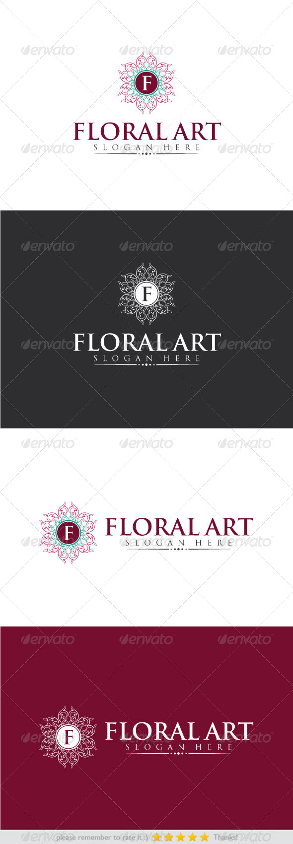 GraphicRiver Floral Art 8242466