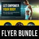 3 in 1 Sport Activity Flyer Bundle 09 - GraphicRiver Item for Sale