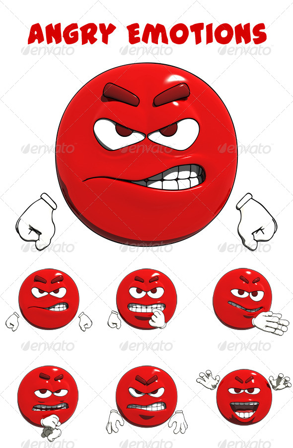 GraphicRiver Angry Emotions 8242534