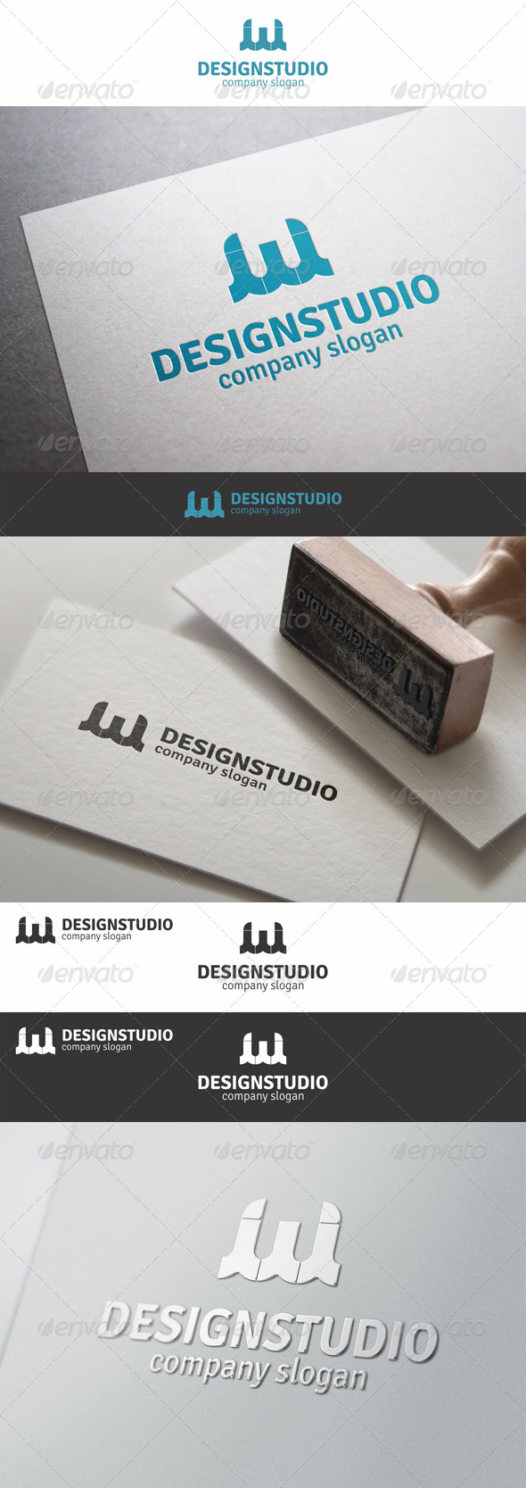 GraphicRiver Web Design Studio W Logo 8242535