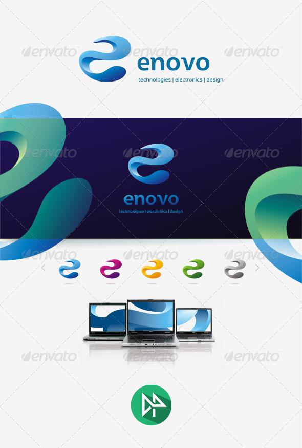 GraphicRiver Enovo Logo Template 8242630