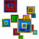 colorful glass cubes - PhotoDune Item for Sale