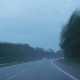 Fast Driving On A Showery Day - VideoHive Item for Sale