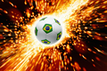 Burning soccer ball - PhotoDune Item for Sale